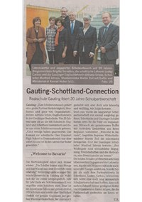 Gauting-Schottland-Connection