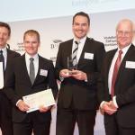 Die Gautinger Delegation mit dem Vorsitzenden der Cornelsen Schulbuchverlage, Herrn Wolf Rüdiger Feldmann...
